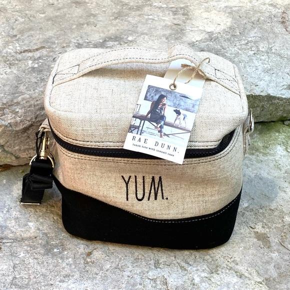 Rae Dunn YUM Insulated Lunch Bag